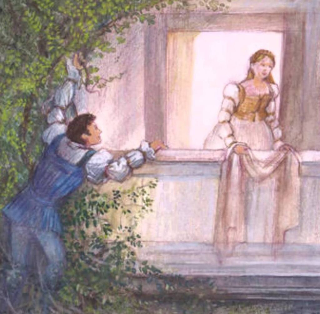 an act scene in william shakespeares romeo and juliet The balcony scene (act iii scene 5) from william shakespeare's 'romeo and juliet' engraving c1880 was licensed and carefully printed on only the finest canvas which captures all of the details and visual colors and elements of the original work of art.